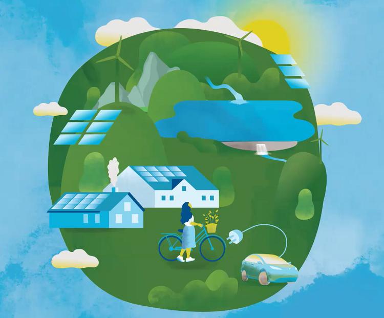 Cover of The Low Emissions Scenario 2020