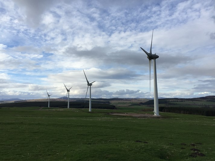 Welton of Creuchies wind park
