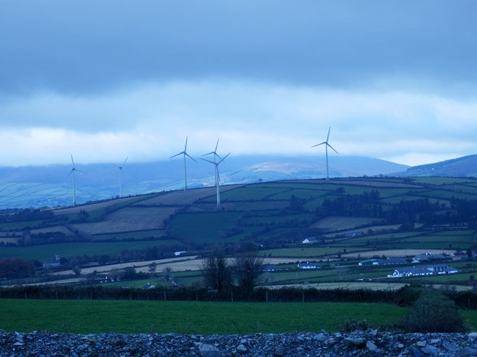Picture of Castledockrell wind farm